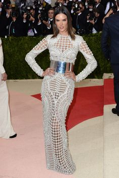 From Beyonce in custom Givenchy to the bevy of #Balmain-clad glamazons, see all of our top picks for Best Dressed at #MetGala on WedLuxe.com | WedLuxe Magazine | #fashion #outfit #inspiration #gown #luxury