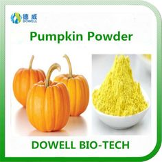 Pumpkin Powder - Dowell Bio-Tech focus on producing 100% pure natural fruit and vegetable powders by the advanced manufacturering technology. All the raw materials comply with organic standards, contains variety of vitamins and acids; With pure flavor, good taste, super water solubility, can be widely used in pharmaceutical and health care products, health food, infant food, beverage, dairy products, sport drinks and other fields.
