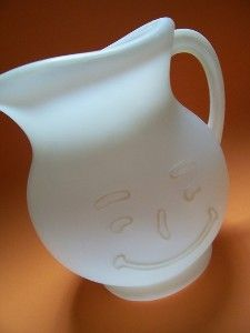 Kool-Aid Pitcher so had one of these when the kids were growing up.. Humm whatever happened to it?