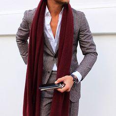 Suit &  scarf