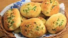 Pan de albahaca y queso