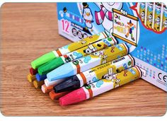 12 Colors Marie'S Oil Pastels Sticks Soft Drawing Art Square Chalk Painting