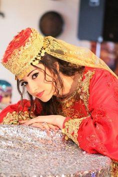 Turkic Muslim Azeri lady from Azerbaijan