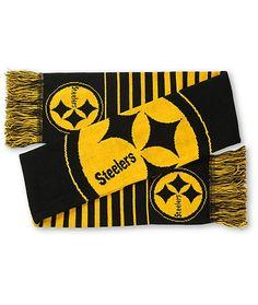 NFL Pittsburgh Steelers Big Logo Scarf – 460 Sports