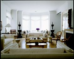 """An Upper East Side apartment by Benjamin Noriega-Ortiz from """"METROPOLITAN HOME: DESIGN 100"""" by Michael Lassell"""