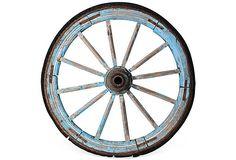 I promise you, I will never want that wagon wheel coffee table. 19th-C. Wagon Wheel II on OneKingsLane.com