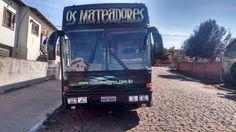 Ônibus Paradiso Scania 113 intercooler banda Motorcasa Cor Fantasia Motorhome