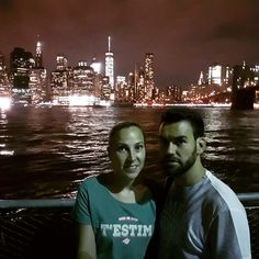 Espectaculares vistas de Manhattan de noche 😍