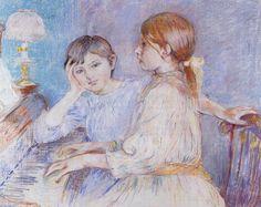 ART & ARTISTS: Berthe Morisot - part 4