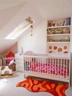 Attic nursery - pinned by www.peekaboomagazine.com.au