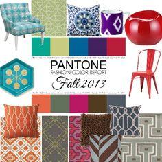 Pantone Colors Fall 2013 , charisse