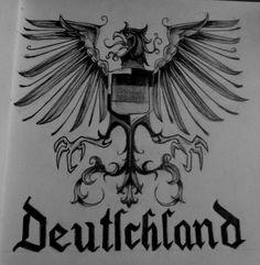 German Eagle Symbol   Eagle of the German Empire by Rarayn ...