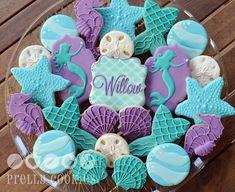 Prelly Cookies - Very last order of 2015! Mermaid theme cookies...