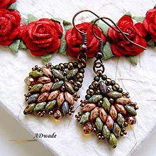 Earrings - Beaded Earrings Catherine IV - 6367201_