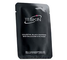 111 SKIN Celestial Black Diamond Bio CelluloseEye Mask