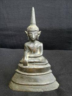 Buddha Thailand Nan Maravijaya Bronze 18th C.