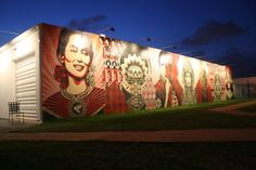 Take a drive to the Wynwood Walls in Miami. It's always a great experience and awesome place to hang out. Has anyone been here during Art Basel.