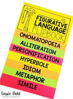 Having Fun with Figurative Language - Cassie Dahl | Teaching + Technology