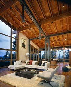 Farrar Residence, Park City, Utah ~ Bohlin, Cywinski, Jackson Architect