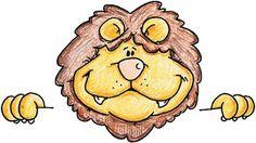 dibujos de leones para imprimir-Imagenes y dibujos para imprimir