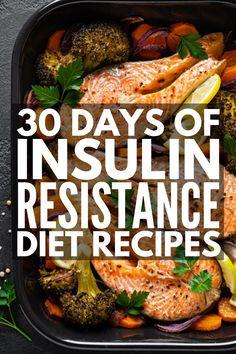 Weight Loss That Works: Insulin Resistance Diet Plan Best Diet Foods, Best Diets, Insulin Resistance Diet, Diabetic Meal Plan, Pcos Meal Plan, Healthy Diabetic Recipes, Healthy Menu Plan, Diabetic Food List, Diabetic Breakfast Recipes