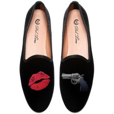 Del Toro M'O Exclusive #kisskissbangbang Loafer ($340) ❤ liked on Polyvore featuring shoes, loafers, del toro loafers, del toro, wooden shoes, wood shoes and loafer shoes
