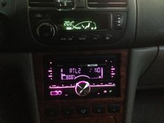Autoradio Kenwood DPX405BT 2 din dans Chevrolet Evanda