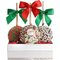 easy christmas candy apples - Google Search