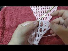 πλεκτό σάλι με το βελονάκι μέρος 1. crochet shawl tutorial part 1. Irene crochet - YouTube Crochet Shawl, Shawls, Crochet Necklace, Youtube, Jewelry, Jewlery, Jewerly, Schmuck, Jewels