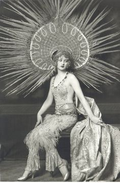 """Myrna Darby - Photo by Alfred Cheney Johnston  """"Born in Pittsburgh, Myrna Darby, appeared in six Ziegfeld productions—""""No Foolin',"""" """"Rio Rita,"""" """"Follies of 1927,"""" """"Rosalie,"""" """"Three Muskateers,"""" and """"Whoopee""""—before her death from an inflammation of the heart at age 21. She fell ill during the run of """"Whoopee"""" and though reputedly one of the highest paid showgirls in New York, left an estate of only $750. Strikingly photogenic, she was one of the most photographed of the follies."""