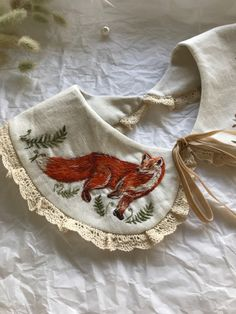 Embroidery Art, Embroidery Designs, Mushroom Hat, Detachable Collar, Collars For Women, Fabric Covered, Vintage Style Outfits, Creative Gifts, Diy Clothes
