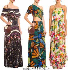 Boho Fashion, Womens Fashion, Fashion Trends, Vestidos Farm, Printed Gowns, Edwardian Dress, Summer Wear, Casual Chic, Strapless Dress