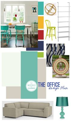 Sharing the color and design plan for my future office on the blog today!