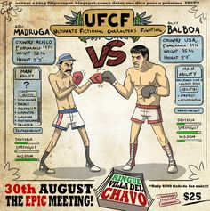 UFCF: Ultimate Fictional Characters Fighting
