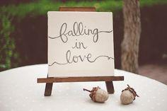 Really cute fall themed bridal shower