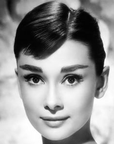 Audrey Hepburn's brows