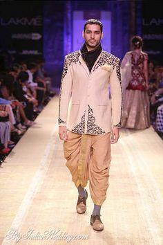 Anju Modi smart designer wear for men