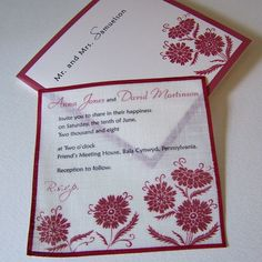 Handmade Wedding Invitations | Unique Handmade Wedding Invitations (Source: handmadeweddingplanner ...