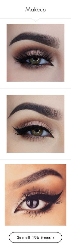 """Makeup"" by maddiecau99 ❤ liked on Polyvore featuring beauty products, makeup, eye makeup, eyeshadow, eyes, palette eyeshadow, false eyelashes, beauty, filler and eyeliner"