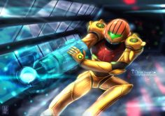 Samus - Metroid by chinchongcha on DeviantArt #metroid #gaming