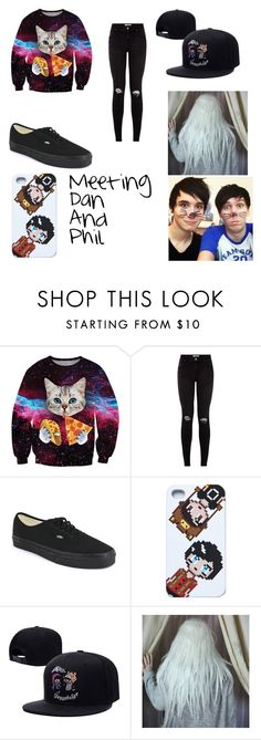 """""""Meeting Dan And Phil"""" by cassie5sos on Polyvore featuring Chicnova Fashion and Vans"""