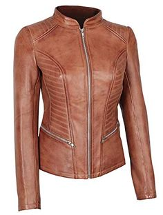 d1e2d142dbef6 New BlingSoul Asymmetrical Leather Jacket Womens - Quilted Ladies Leather  Biker Jackets online