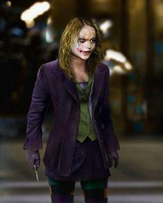 Genderswapped Ledger!Joker