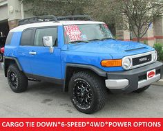awesome 2007 Toyota FJ Cruiser 4WD 6 Spd Black Premium Alloys Tow Package - For Sale