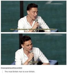 When Tom Hiddleston was the mythical cute British boy of Tumblr's dreams. | 29 Times Tumblr Completely Got What It Means To Be British