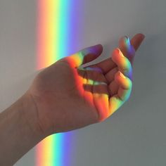 Find images and videos about aesthetic, hand and rainbow on We Heart It - the app to get lost in what you love. Rainbow Aesthetic, Sky Aesthetic, Aesthetic Collage, Aesthetic Vintage, Aesthetic Photo, Aesthetic Pictures, Aesthetic Pastel Wallpaper, Aesthetic Backgrounds, Aesthetic Wallpapers