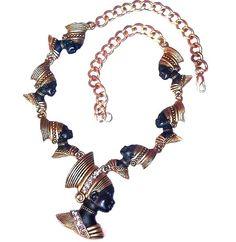 Vintage Blackamoor Necklace