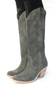 pskaufman... ALLEY tall boot, finished with a playa wash. recycled tire outer soles. & handmade with love.