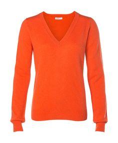 Laura Cashmere - loooving orange cashmere!