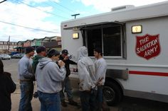 Salvation Army Relief efforts in New York and New Jersey.